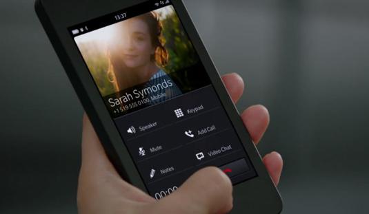 BlackBerry 10 beta