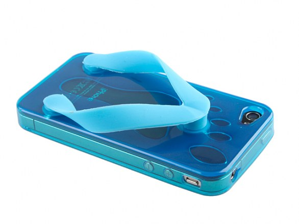 Blue iPhone 4 Slipper Case