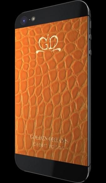 Leather orange cover