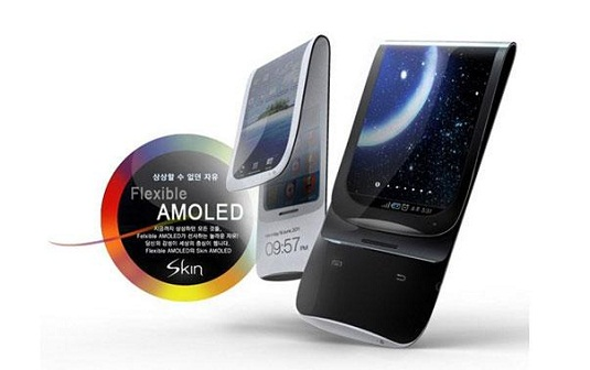 New Samsung Foldable AMOLED smartphones