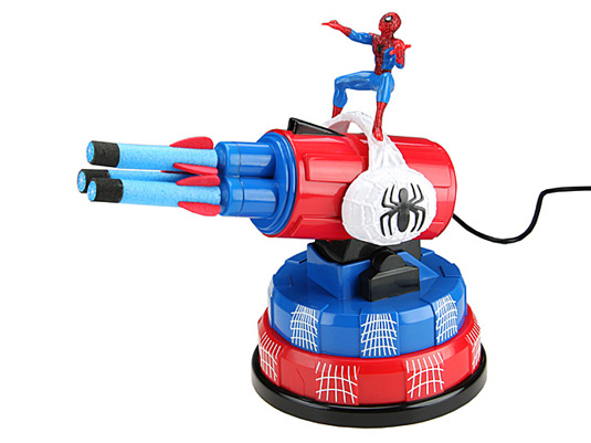 Spiderman's missile launcher USB