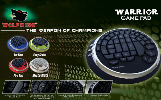 Wolf king keyboards