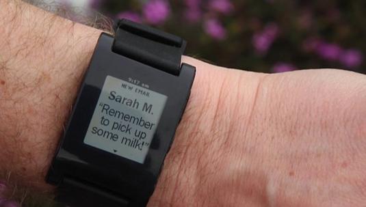 Pebble Alert smartwatch
