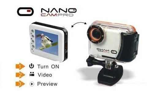 Nano Cam Pro Action