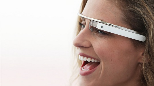 Google Glasses sideshot