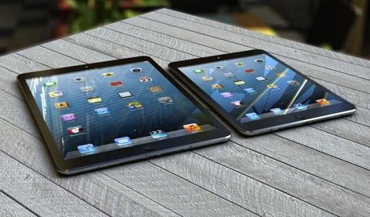 iPad 5 on the table