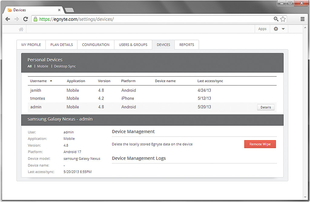 Egnyte's New Mobile Data Management suite