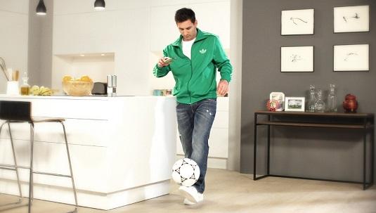 WeChat Messi
