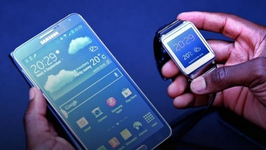 Samsung Galaxy Gear compare