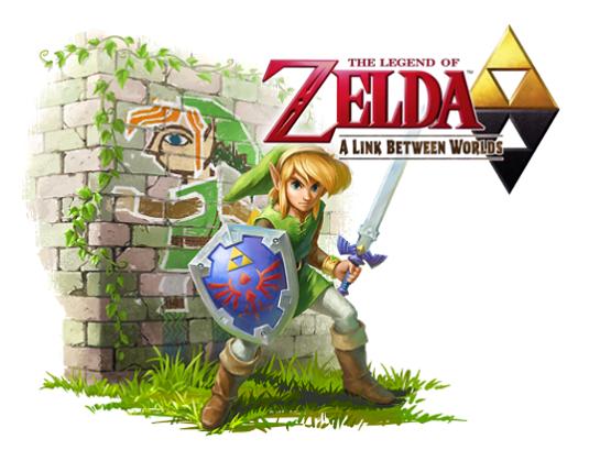 A link between worlds Zelda