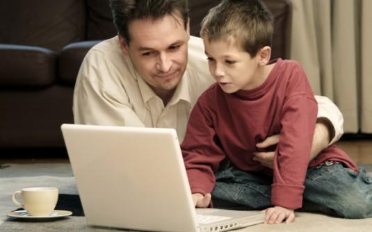Kids on internet