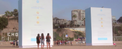 Free Shade and Free Wi-Fi in Peruvian Beach from Shadow Wi-Fi