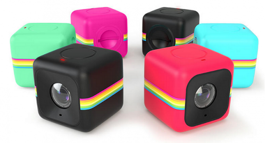 Original and new Polaroid Cube