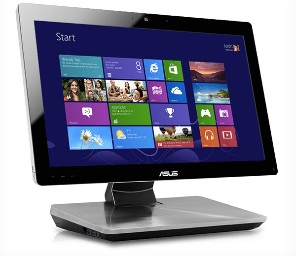 Windows 8 on Asus ET 2300