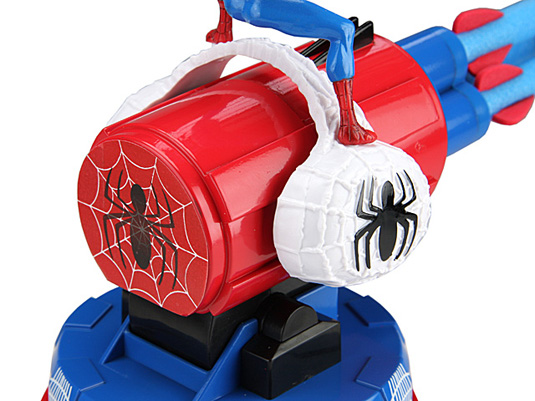 Spiderman's missile launcher USB rear view
