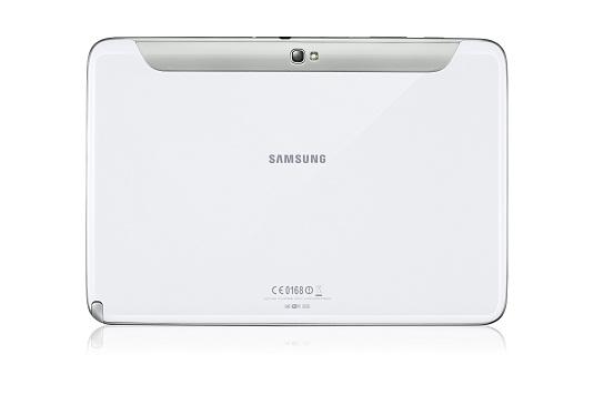Samsung Galaxy Note 10.1 back