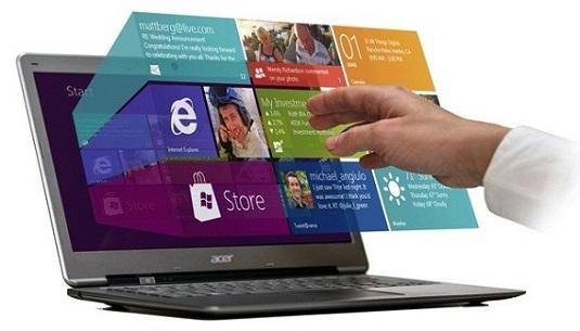 Windows 8 Gesture suite