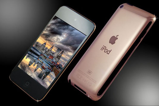 iPod Touch 18ct Rose Gold Edition