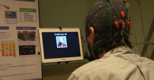 Mind Controlled Tablet
