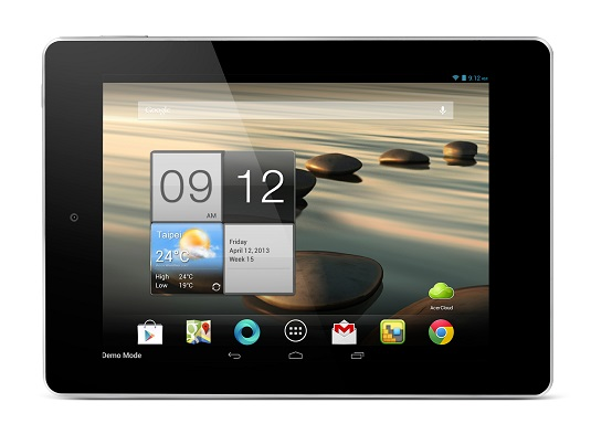 Acer Iconia A1 front