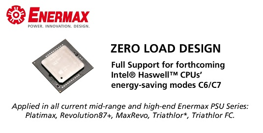 Enermax supporting Haswell