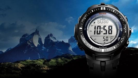 Casio Pro Trek PRW-3000 titanium