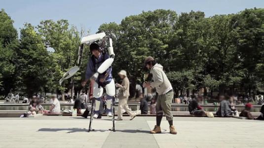Powered Jacket MK3 exoskeleton