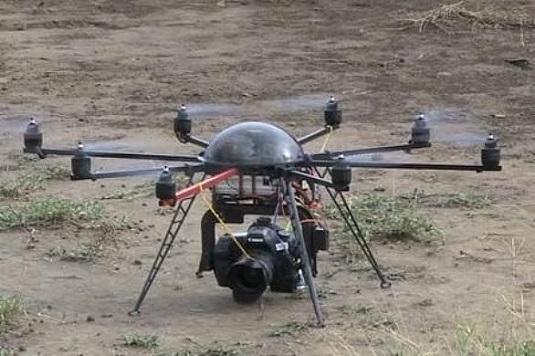 Flying Drone Camera