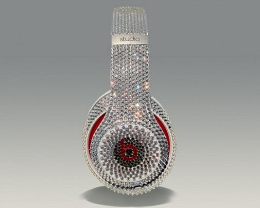 Crystal Rocked headphones