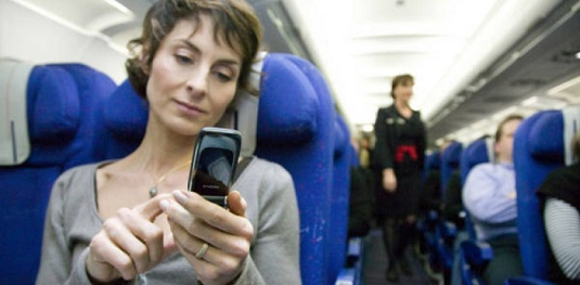 Mobile and tablet use on airplane