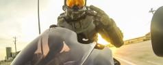 Master Chief Modular Motorcycle Helmet   Halo in your motorbike