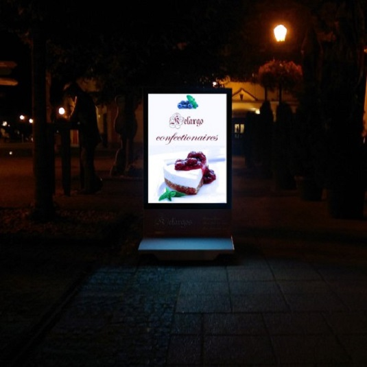 LED Advertising Technology