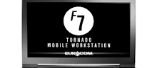 Eurocom Tornado F7W, portable workstation