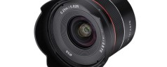 Samyang AF 18mm f / 2.8 FE: the new wide-angle lens for Sony E-Mount